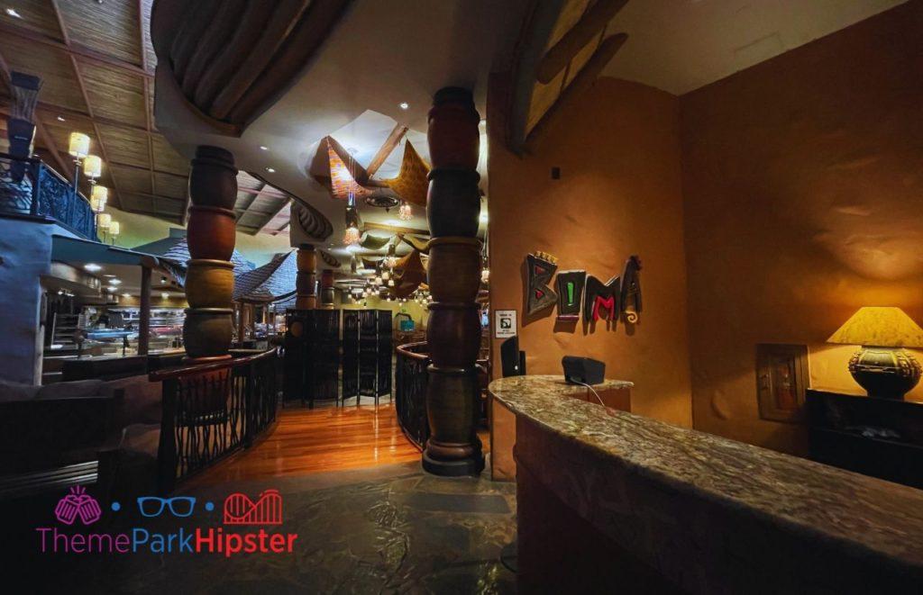 Disney Buffet Restaurant Boma at Animal Kingdom Lodge