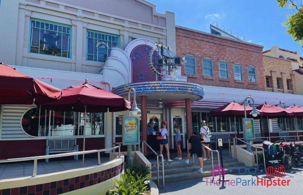 Disney Buffet Restaurant Hollywood and Vine