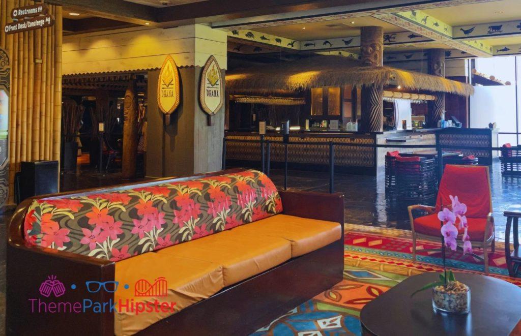 Disney Buffet Restaurant Ohana Entrance making it one of the Best Buffet in Disney World.