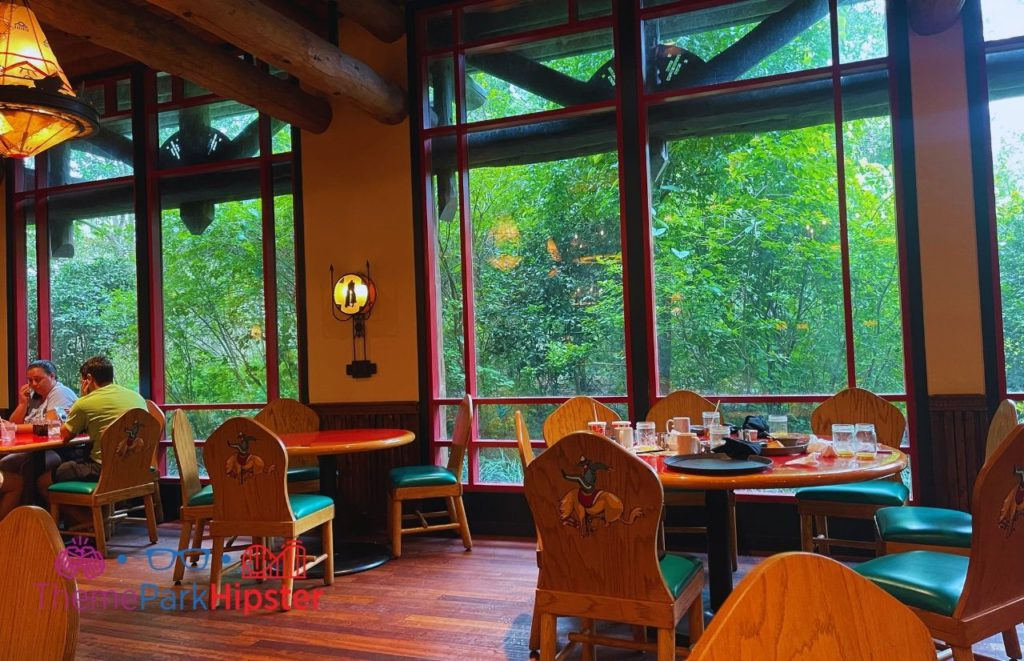 Disney Buffet Restaurant Wilderness Lodge Whispering Canyon Cafe Interior