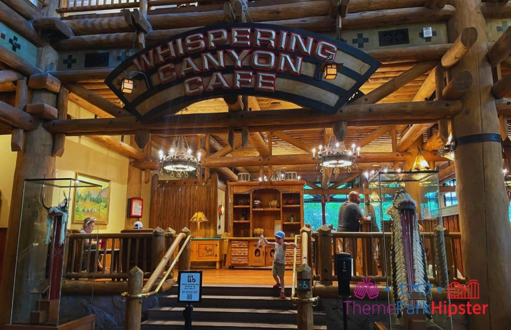 Disney Buffet Restaurant Wilderness Lodge Whispering Canyon Cafe