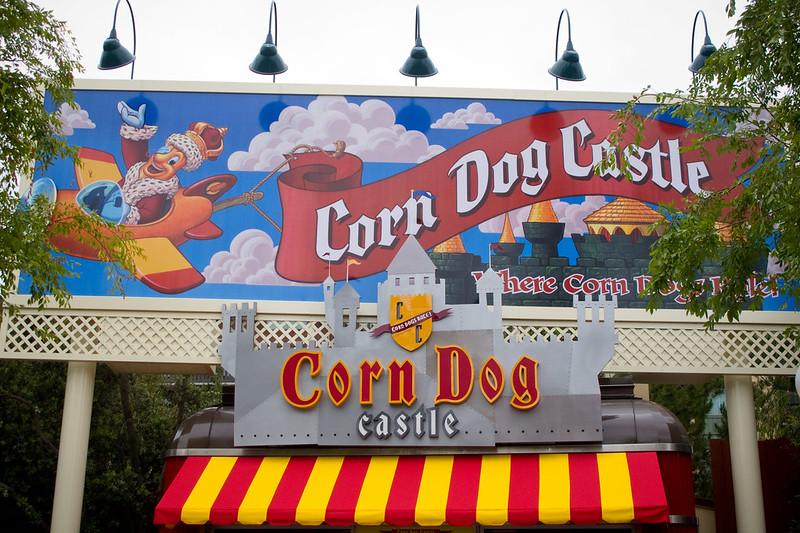 Disney Corn Dog Castle Entrance