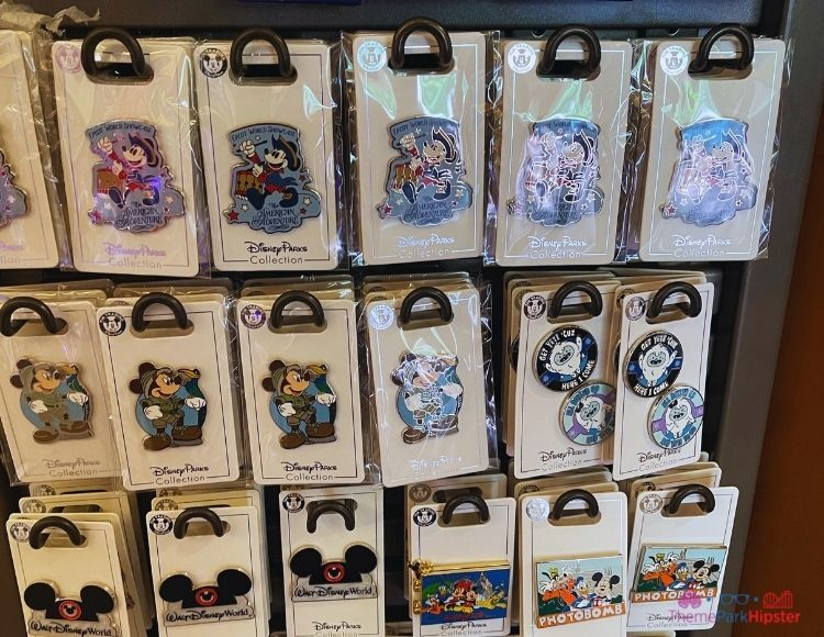 Disney Pins at Target American Adventure Epcot World Showcase Mickey Mouse