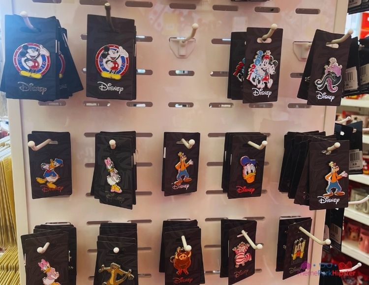 Disney Pins at Target Disney character selection
