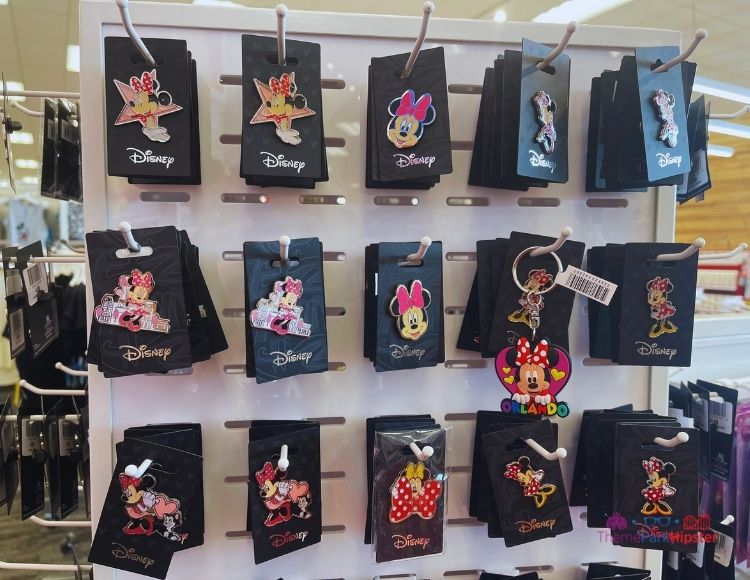 Disney Pins at Target Minnie Mouse Heads