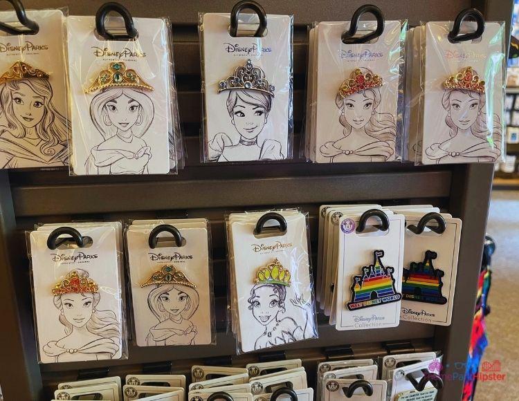 Disney Pins at Target Princess Crowns