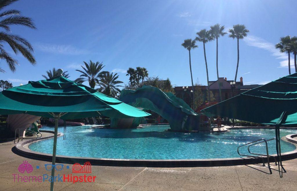 Disney Port Orleans French Quarter Pool Area