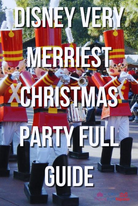 Disney Very Merriest Christmas Party Full guide
