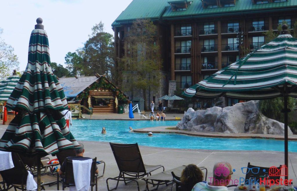 Disney Wilderness Lodge Pool Area Copper Creek Springs