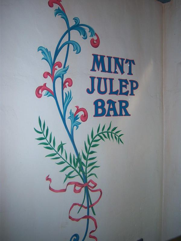 Disneyland Mint Julep Bar Wall