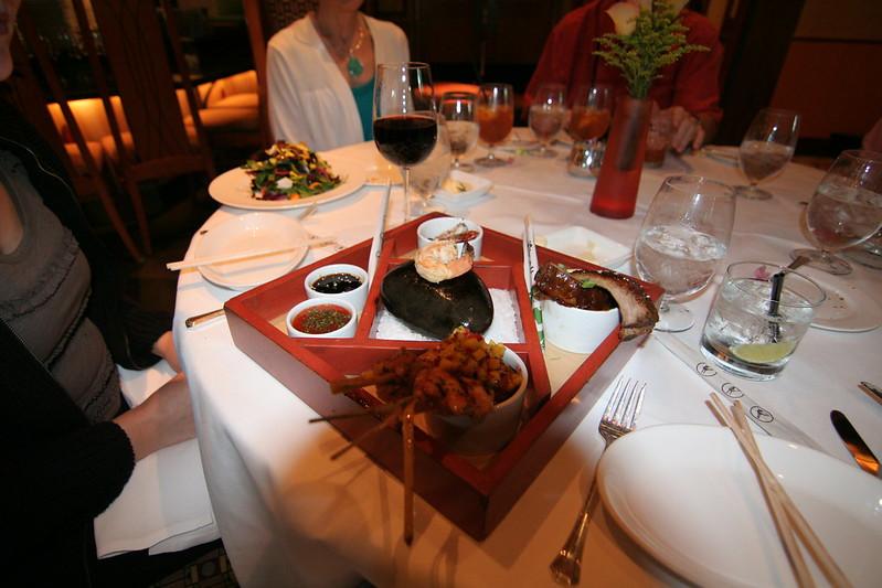 Disneyland Napa Rose Shrimp on Stone best places to eat in disneyland
