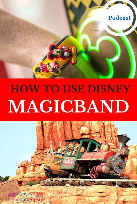 HOW TO USE DISNEY MAGIC BAND