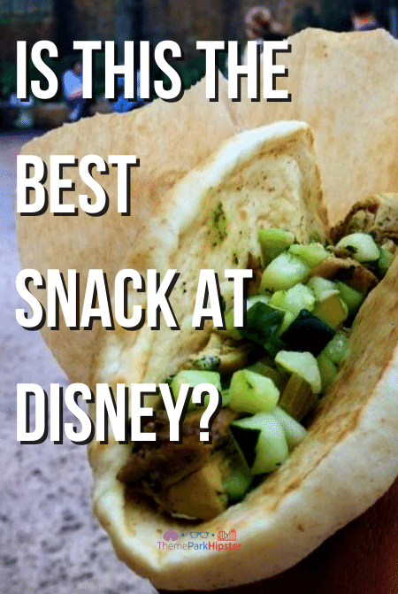Is this the best snack at Disney Ronto Wrap Star Wars Land
