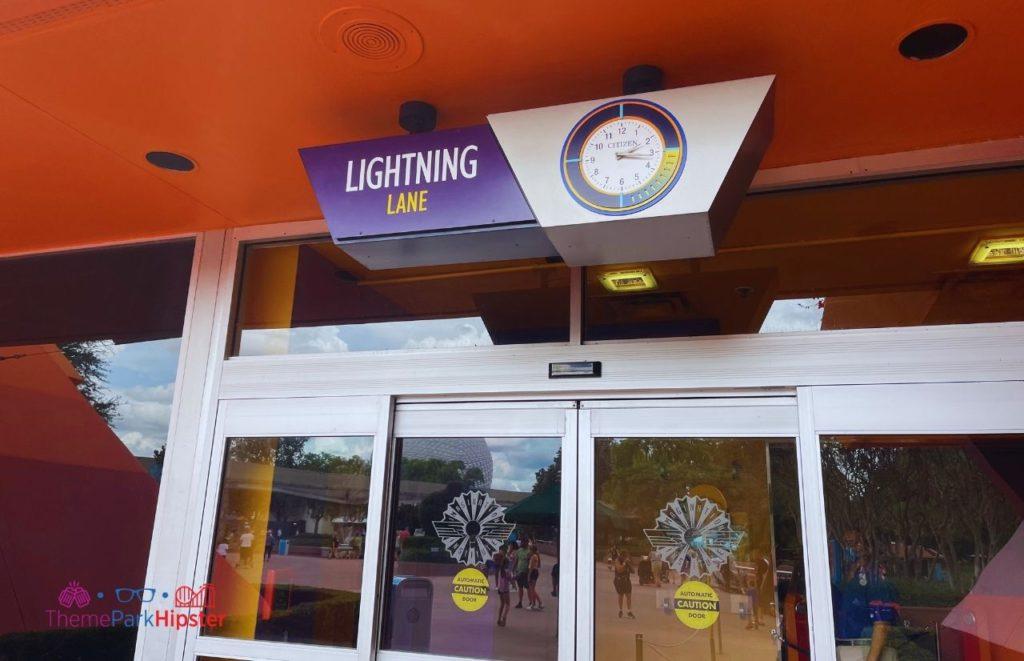 New Lightning Lane Entrance at Epcot Journey into Imagination Ride
