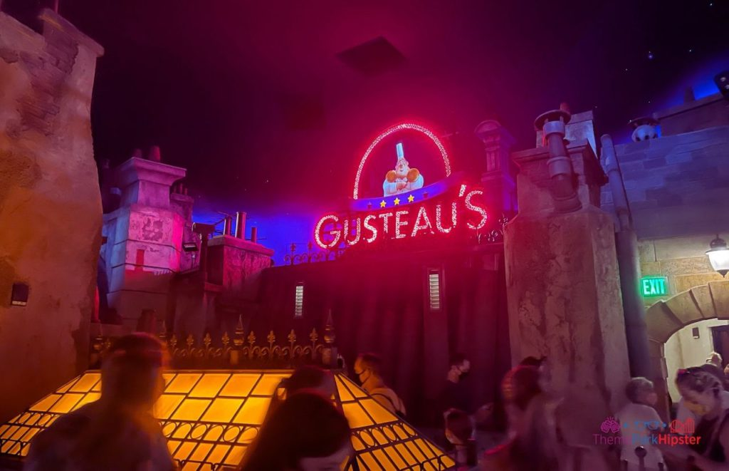 New Ratatouille Ride at Epcot Gusteau's
