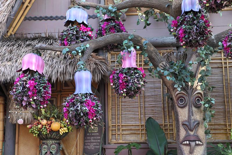 Tangaroa Terrace Disneyland The branches of Tangaroa from the Enchanted Tiki Garden at Disneyland.