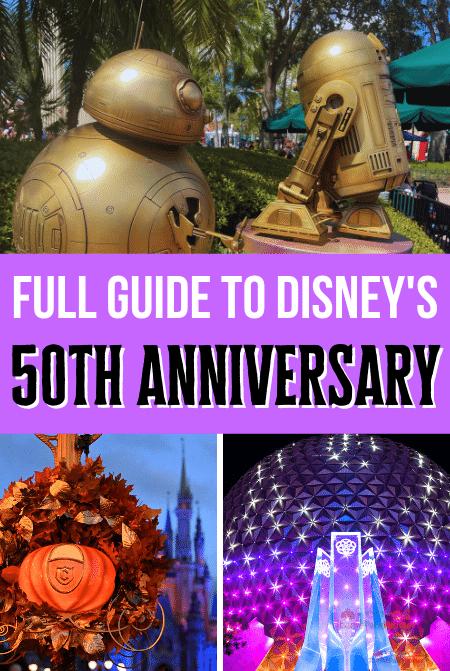 Walt Disney World Guide to the 50th Celebration